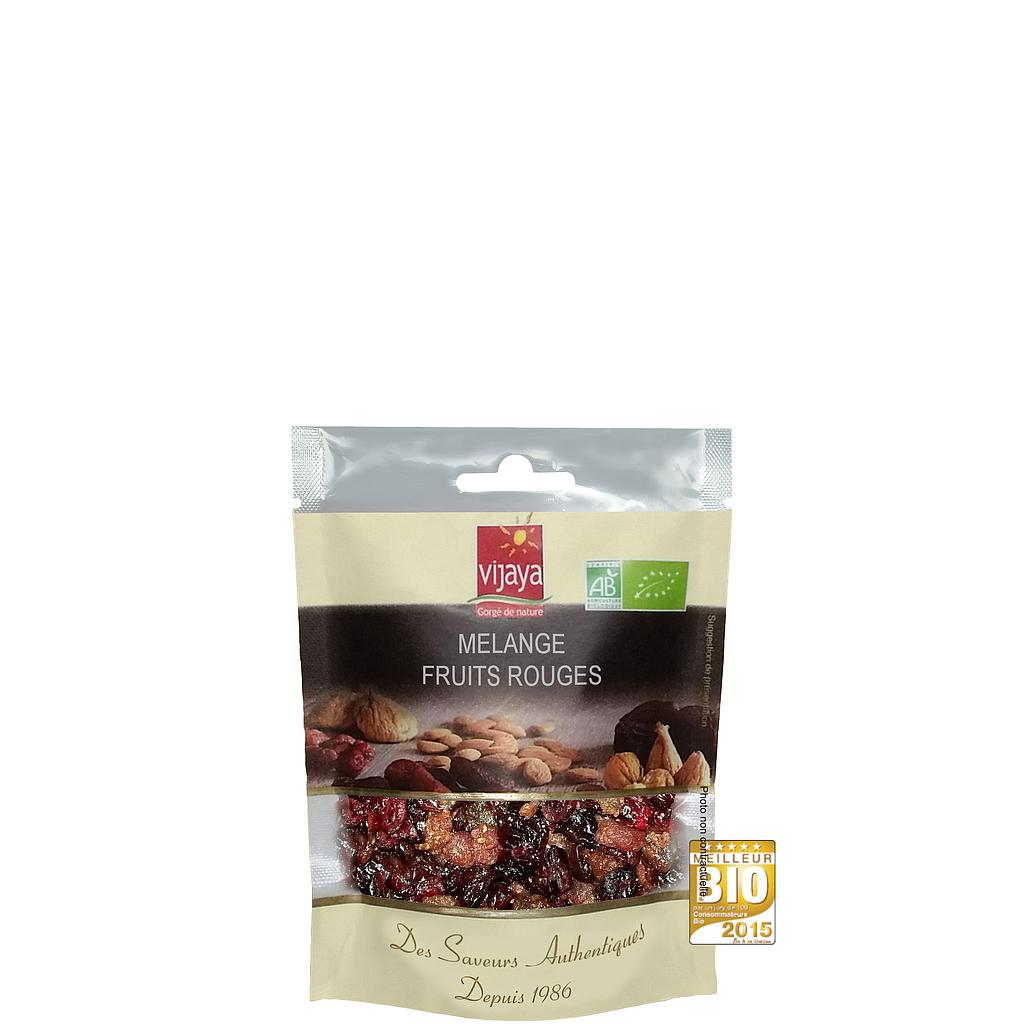 Mélange Fruits Rouges (Fraise,Framboise,Cerise,Cranberry)-125g - Bio*