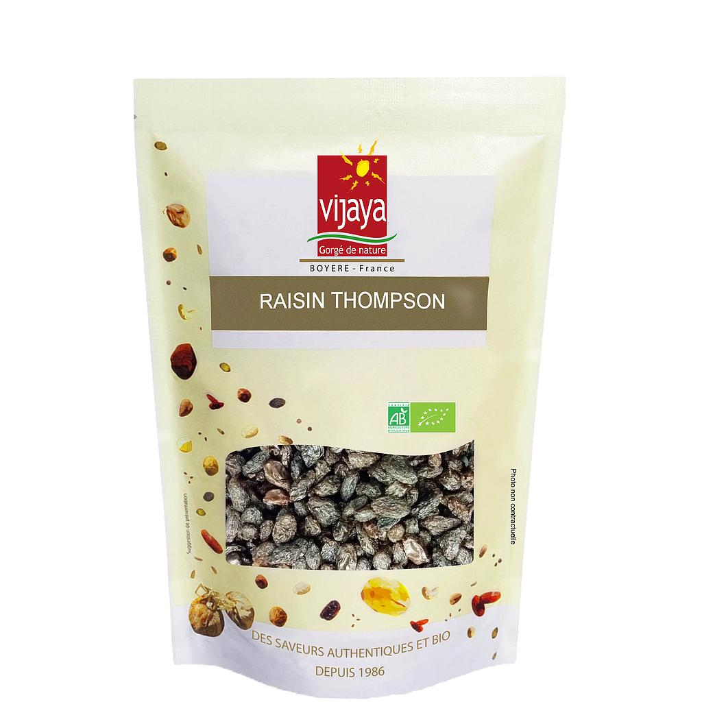 Raisin THOMPSON - CALIFORNIE - 1 kg - Bio*